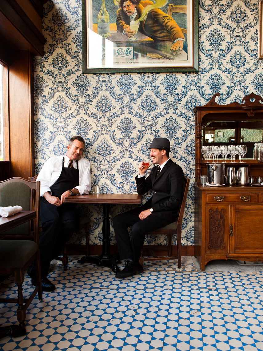Chef and bartentder, Comstock Saloon, San Francisco