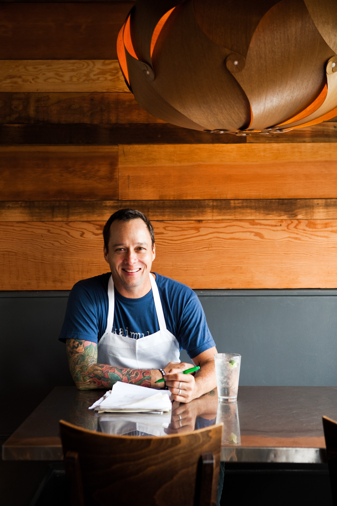 Chef Ed Kenney of Town in Honolulu, Hawaii.